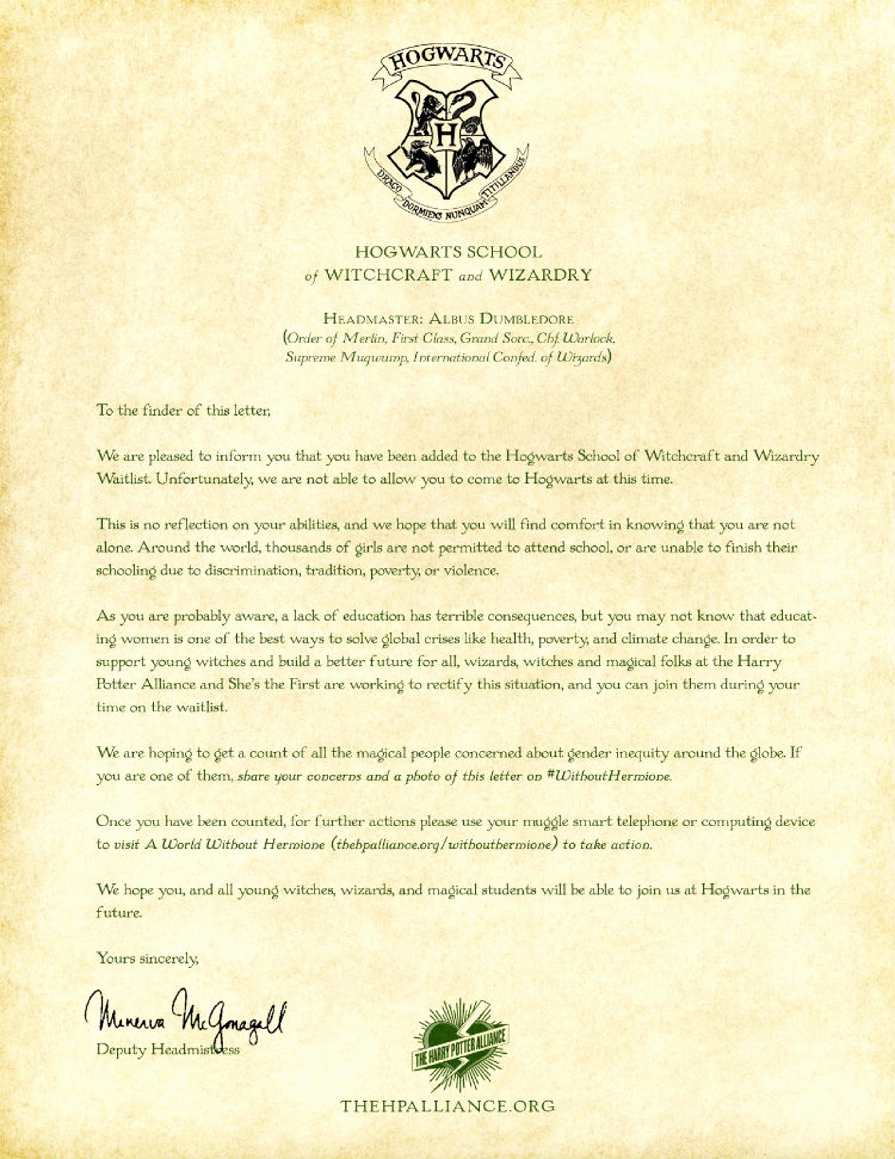Hogwarts Acceptance Letter Template Elegant This Depressing Hogwarts Acceptance Letter is Going Viral