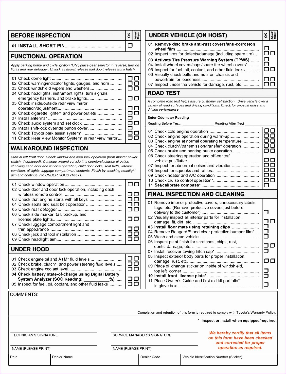 Home Inspection Checklist Templates Inspirational 6 Home Inspection Template Excel Exceltemplates