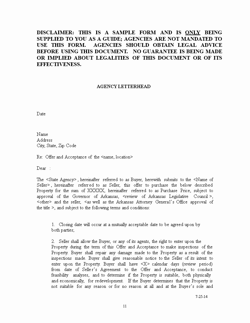 Home Offer Letter Template New House Purchase Fer Confirmation Letter