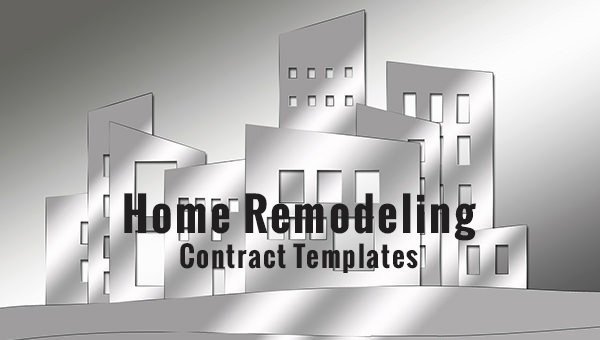 Home Remodeling Contract Template Best Of 10 Home Remodeling Contract Templates Word Docs Pages