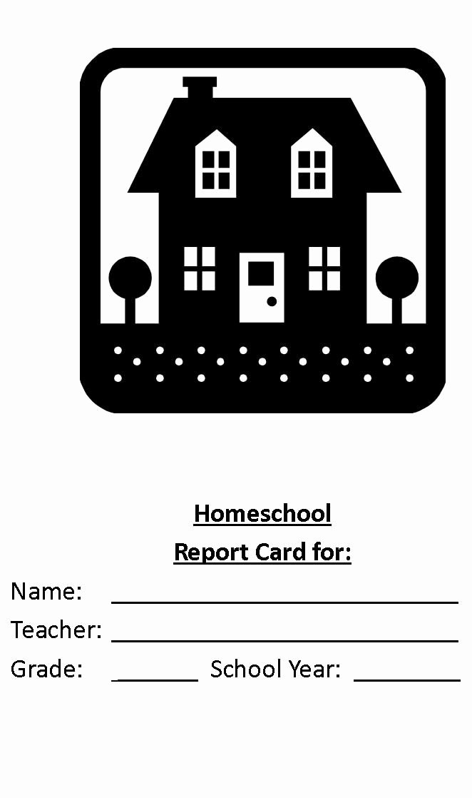 Homeschool Report Card Template Free Beautiful Create A Homeschool Report Card today