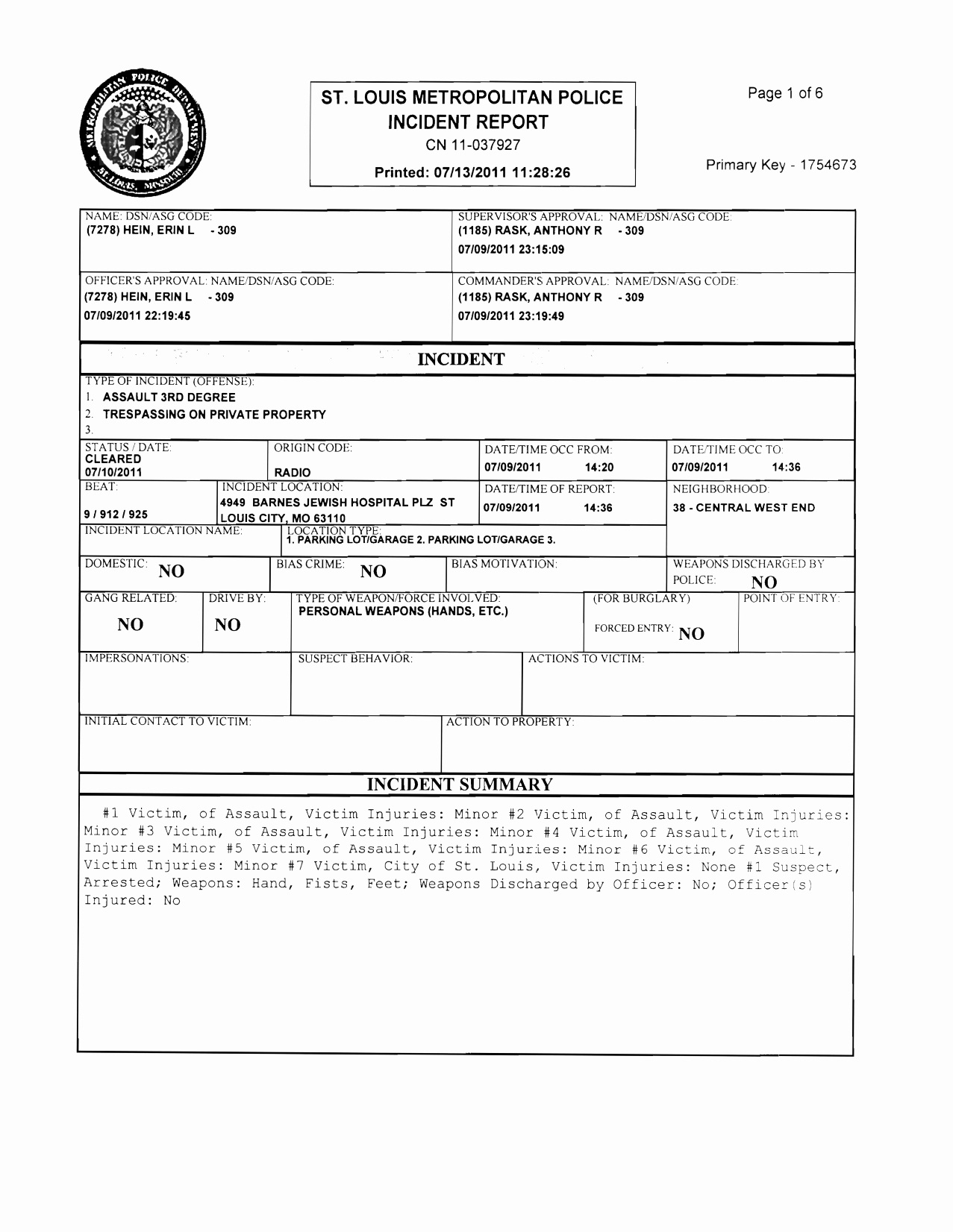 Homicide Police Report Template Lovely Best S Of Free Police Incident forms Printable