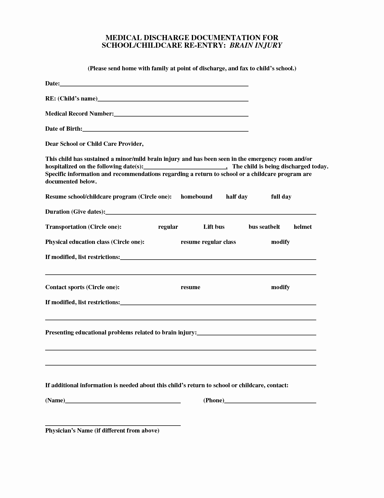 Hospital Discharge forms Templates Lovely Best S Of Hospital Discharge Papers Printable Pdf