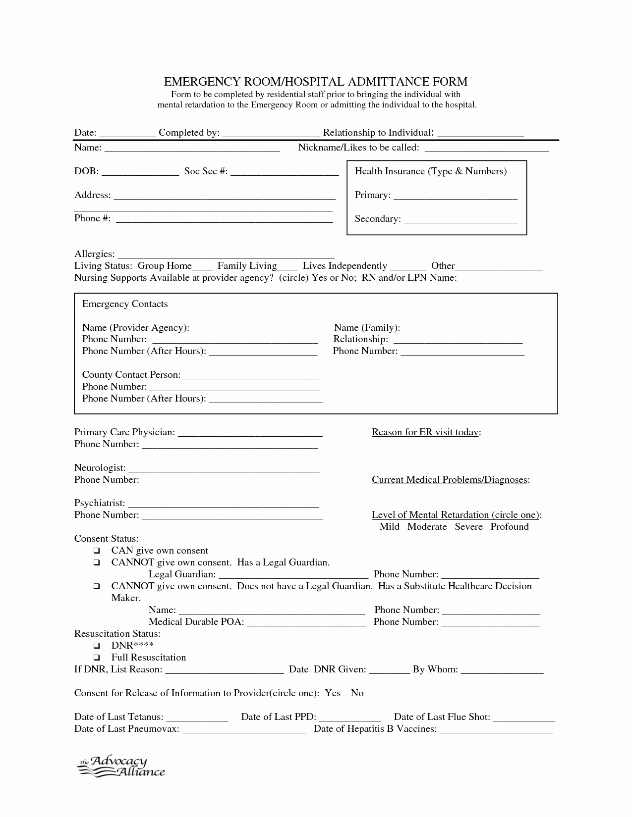 Hospital Release form Template Elegant 9 Best Of Free Printable Hospital Discharge forms
