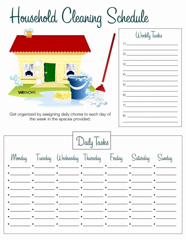 House Cleaning Checklist Template Elegant What Mommy Brain 10 Printable Checklists that Will
