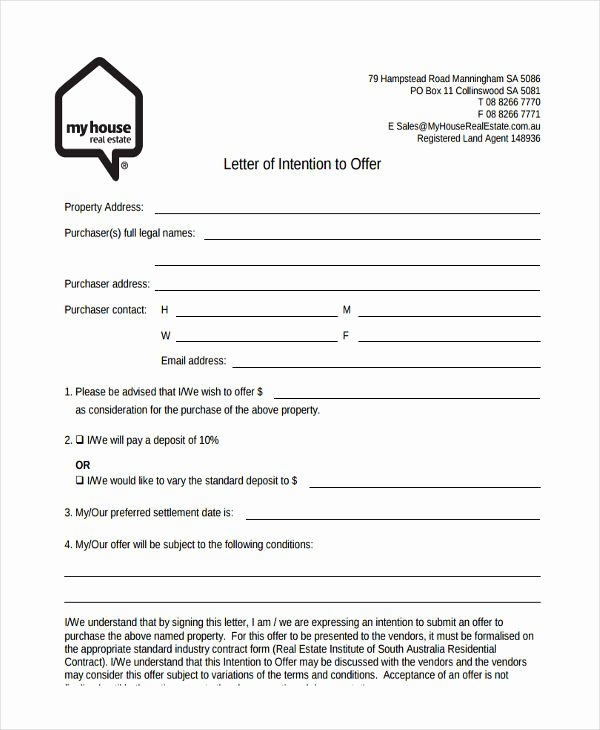 House Offer Letter Template Elegant 66 Fer Letter Templates Word Google Docs Apple