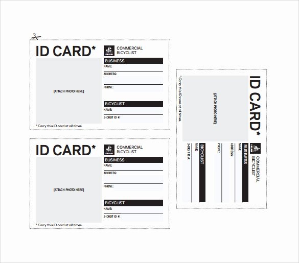 Id Card Template Word Elegant Id Card Template 19 Download In Psd Pdf Word