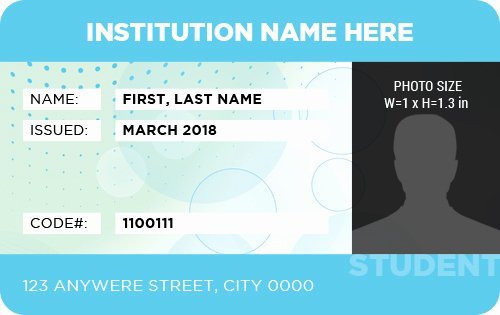 Id Card Template Word Fresh Ms Word Id Badge Templates for All Professionals