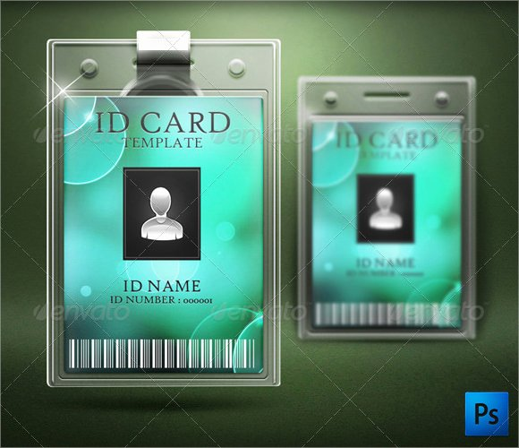 Id Card Template Word New Free 35 Amazing Id Card Templates In Illustrator