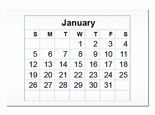 In Design Calendar Template Inspirational January 2014 Calendar Indesign Template Product Trail