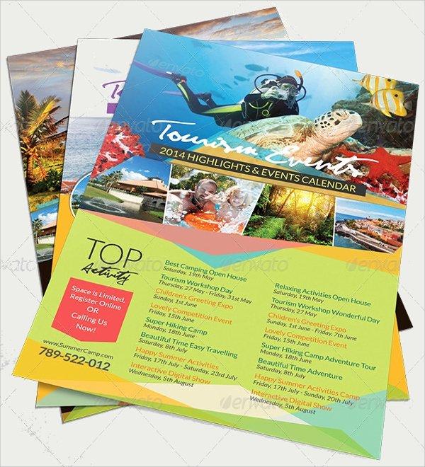 In Design Calendar Template Lovely 17 Calendar Flyer Templates Psd In Design Vector Eps