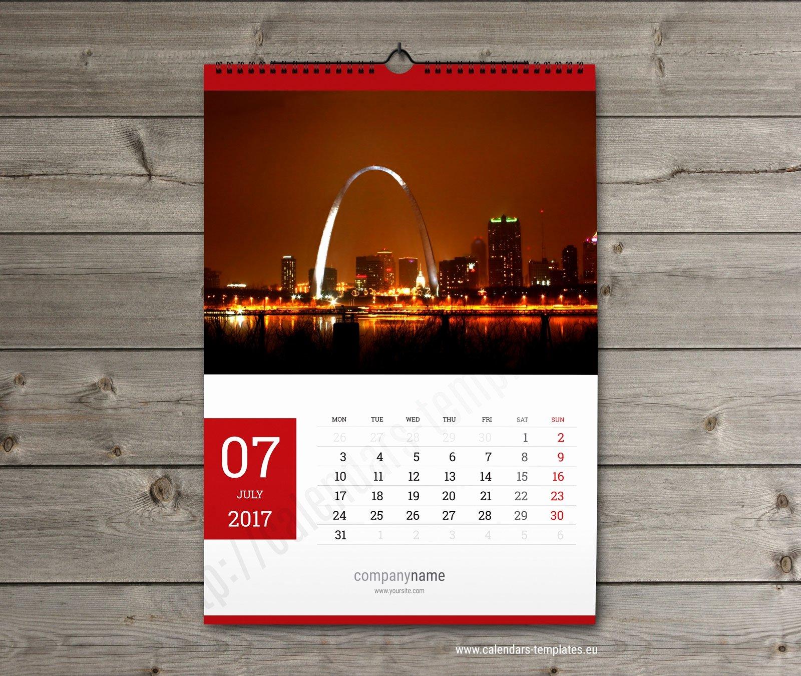 In Design Calendar Template Lovely Free Calendar 2018 Template Indesign