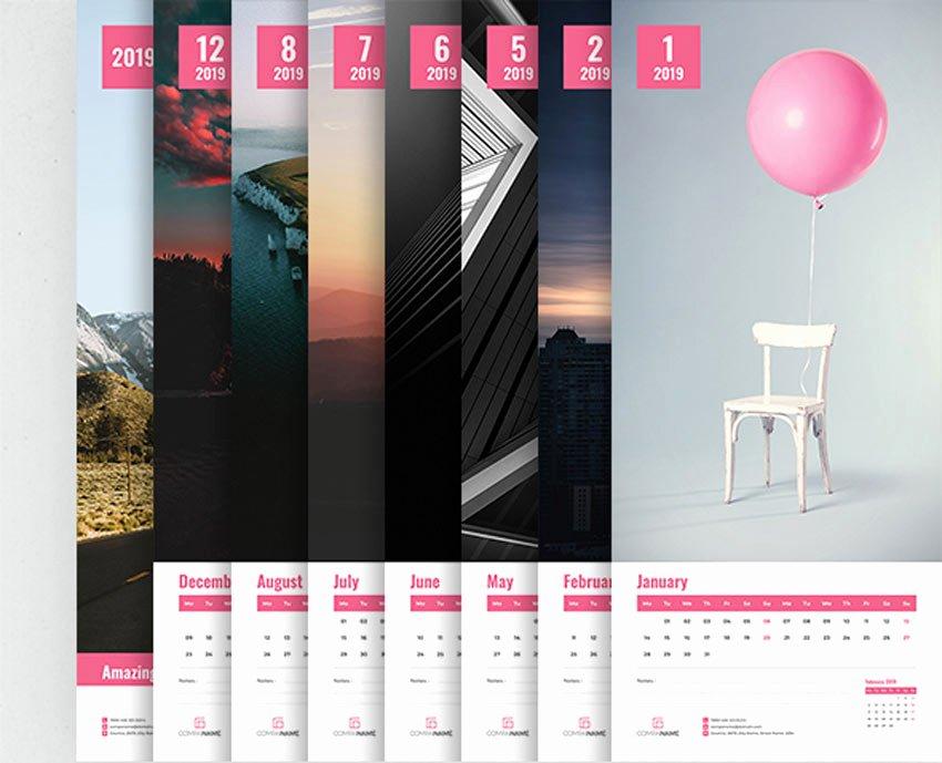 In Design Calendar Template Luxury 21 Best Indesign Calendar Templates New for 2019