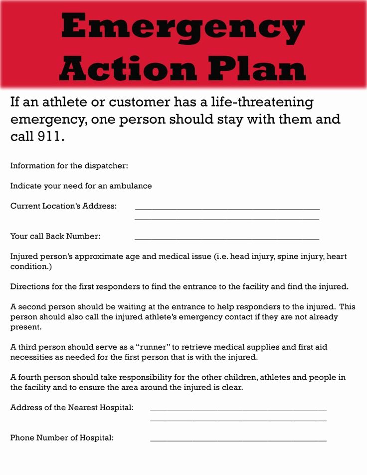 Incident Action Plan Template Beautiful Guide Emergency Action Plan Template