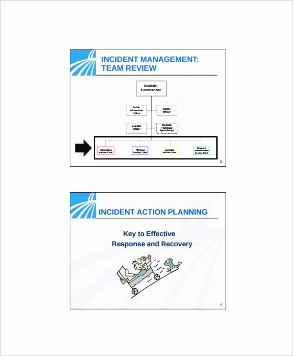 Incident Action Plan Template Best Of Sample Incident Action Plan Template 9 Free Documents