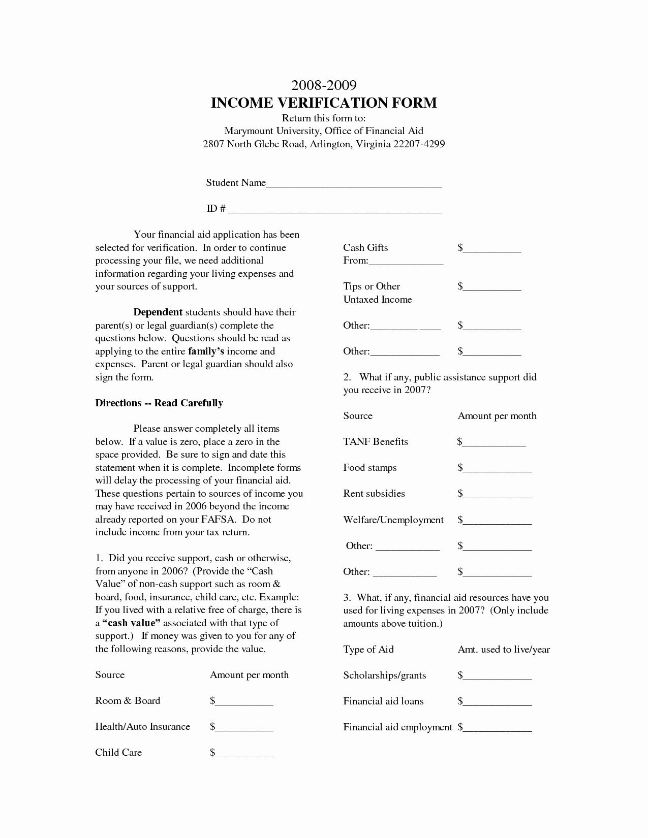 Income Verification form Template Fresh In E Verification form Template Free Printable Documents