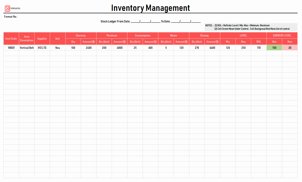 Information Technology Inventory Template Fresh Excel Inventory Template Free Inventory Excel Spreadsheet