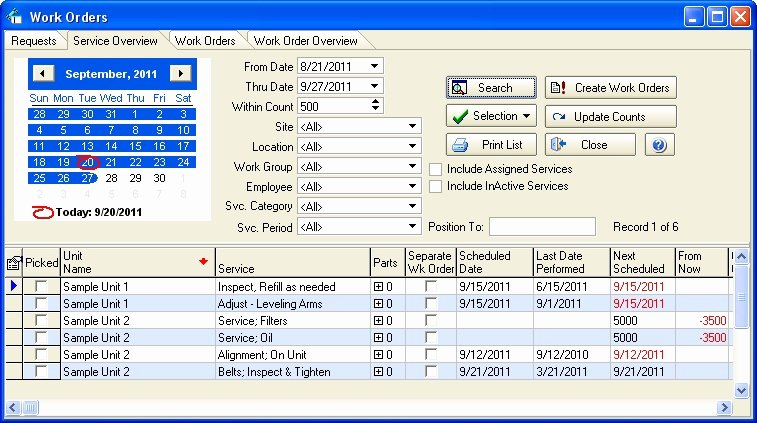 Information Technology Inventory Template New Expressmaintenance Generates Work orders Tracks Scheduled