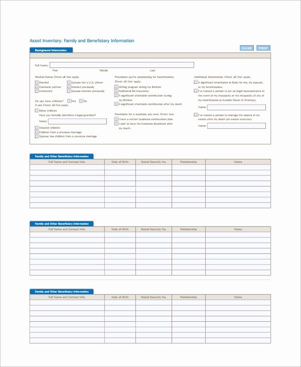 Information Technology Inventory Template Unique Free 6 It Inventory Templates In Pdf