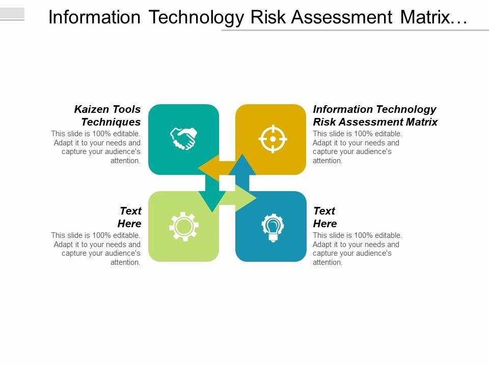 Information Technology Risk assessment Template Fresh Information Technology Risk assessment Matrix Kaizen tools