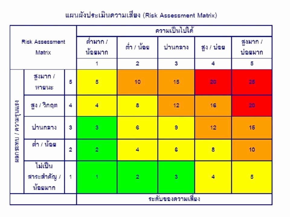 Information Technology Risk assessment Template Inspirational Risk assessment Matrix Hand Crochet