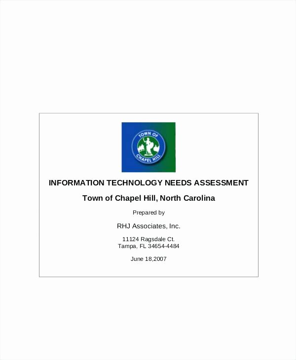 Information Technology Risk assessment Template Lovely Information Technology Needs assessment Template – C2is