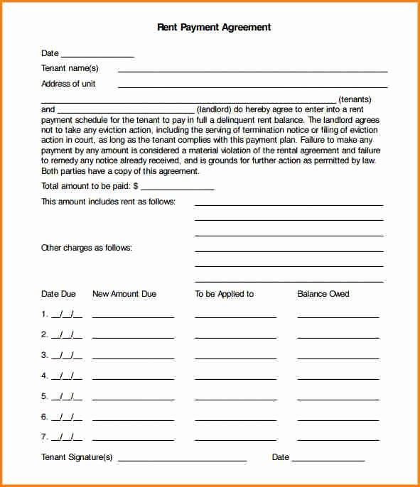 Installment Payment Agreement Template Inspirational 5 Installment Payment Agreement Sample