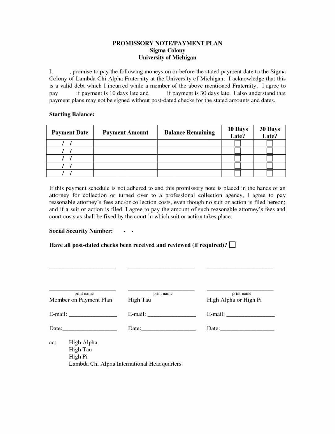 Installment Payment Agreement Template Unique Payment Plan Letter Barcafontanacountryinn Installment