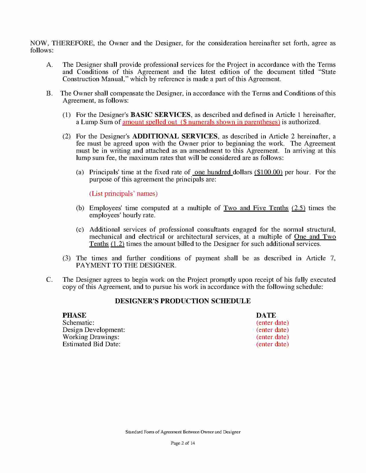 Interior Design Contract Templates Awesome Download Interior Design Contract Style 1 Template for