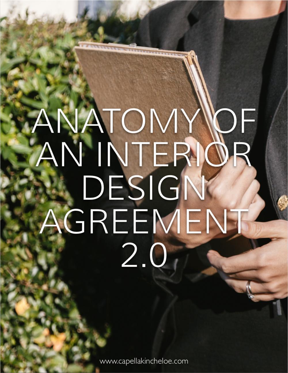 Interior Design Contract Templates Best Of Anatomy Of An Interior Design Agreement 2 0 — Capella