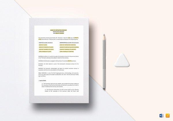 Interior Design Contract Templates Elegant 10 Interior Designer Contract Templates Pdf Google