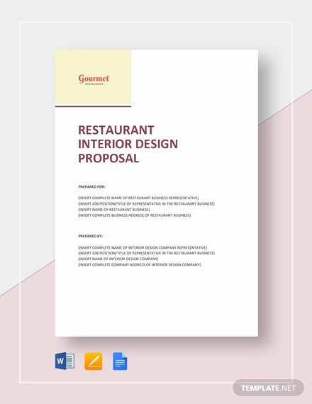 Interior Design Proposal Template Inspirational 8 Interior Design Proposal Examples Pdf