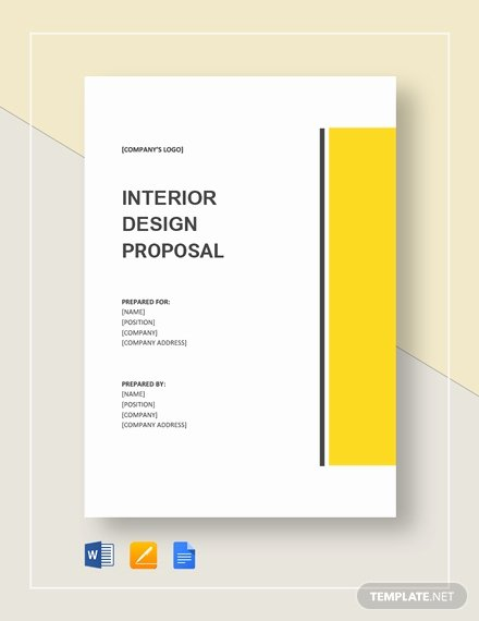 Interior Design Proposal Template New Website Design Proposal Template Download 203 Proposals