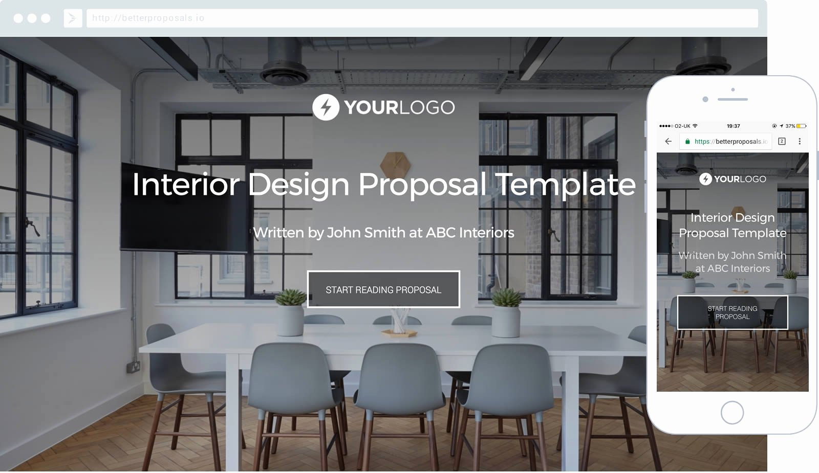 Interior Design Proposal Template Unique Free Interior Design Proposal Template Better Proposals