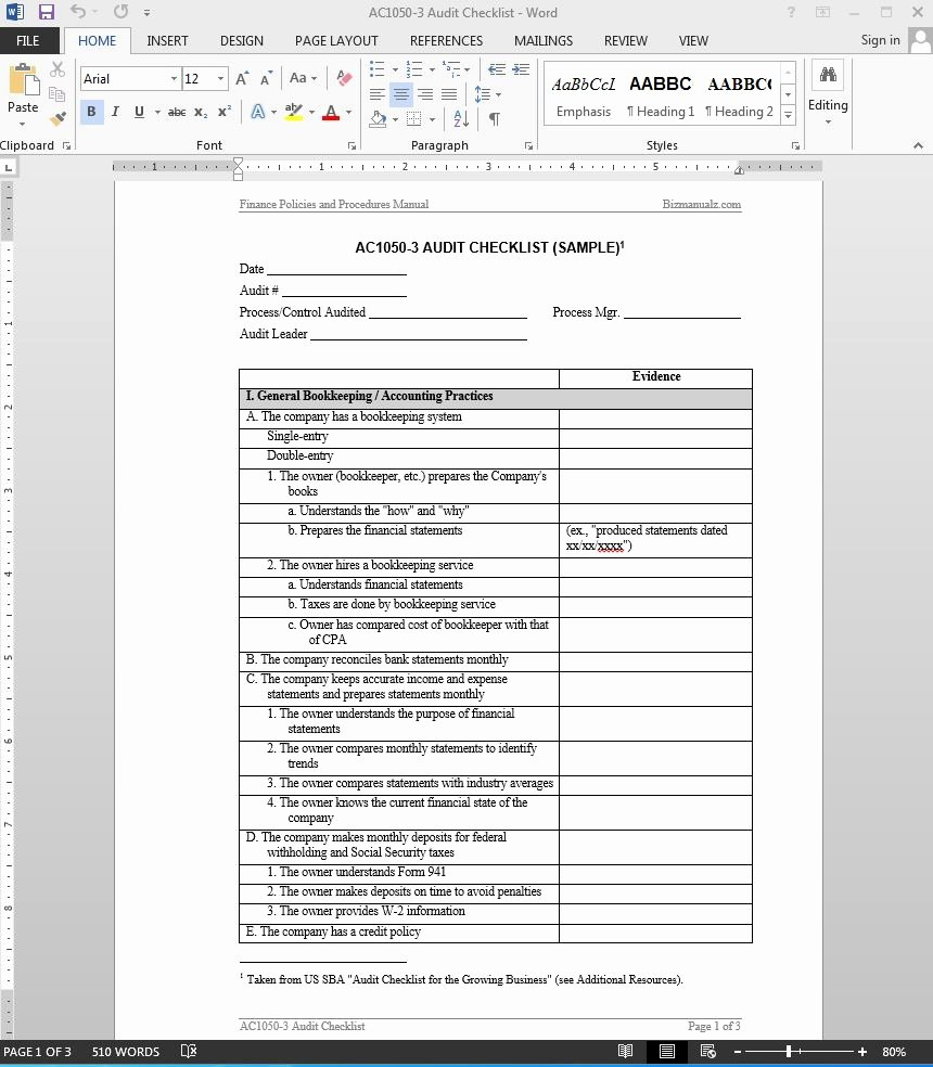 Internal Audit Report Templates Awesome 38 Brilliant Template Samples for Audits Thogati