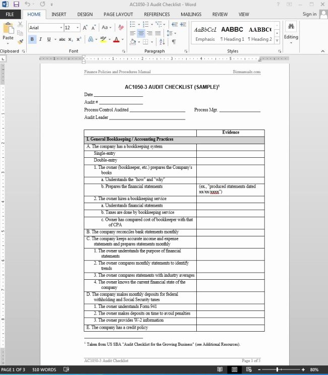 Internal Audit Report Templates Best Of 38 Brilliant Template Samples for Audits Thogati