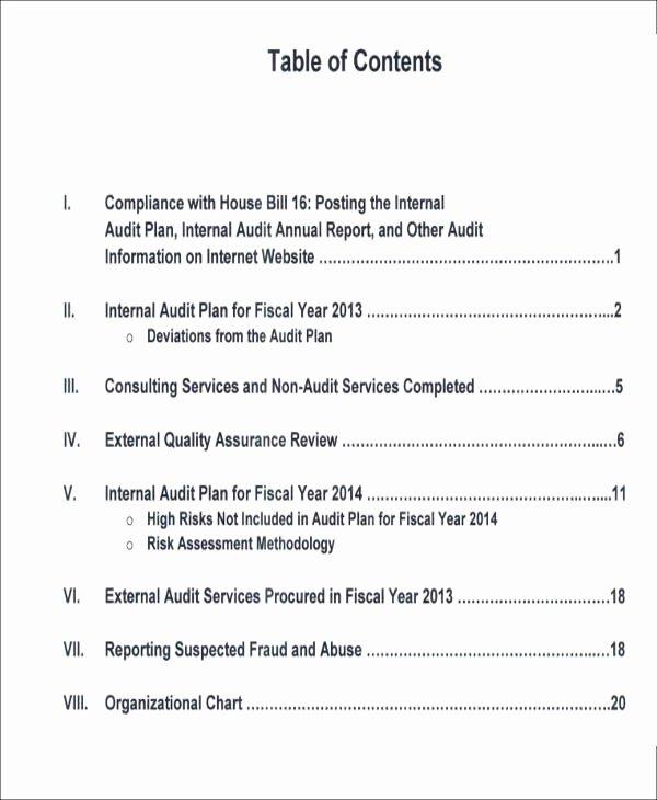 Internal Audit Report Templates Elegant 15 Sample Internal Audit Reports Word Pdf Pages