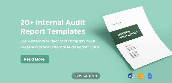 Internal Audit Report Templates Unique 20 Internal Audit Report Templates Word Pdf Apple