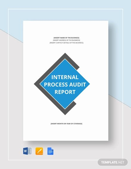 Internal Audit Reports Templates Best Of 20 Internal Audit Report Templates Word Pdf Apple