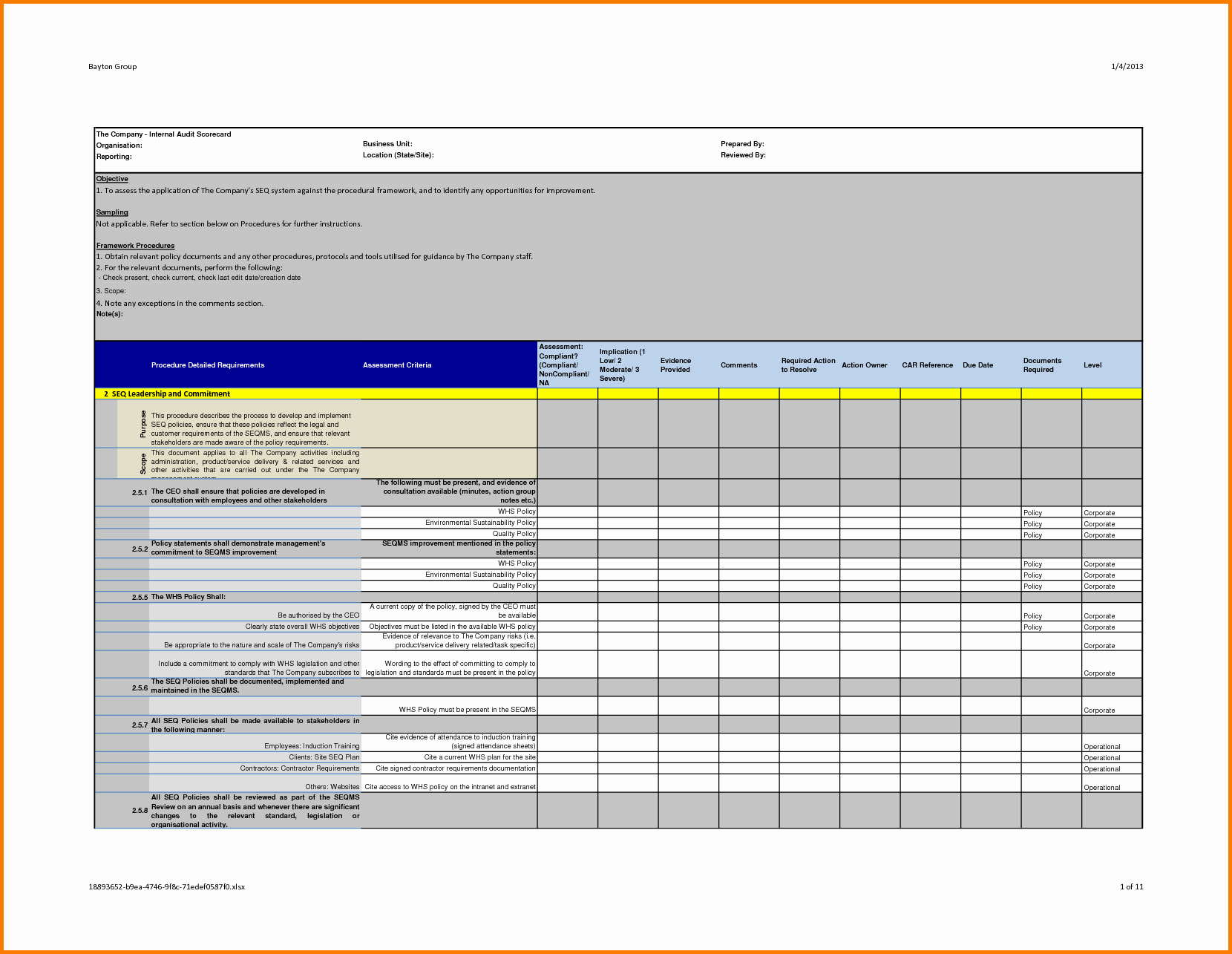 Internal Audit Reports Templates Lovely 37 Brilliant Audit Report format Examples Thogati