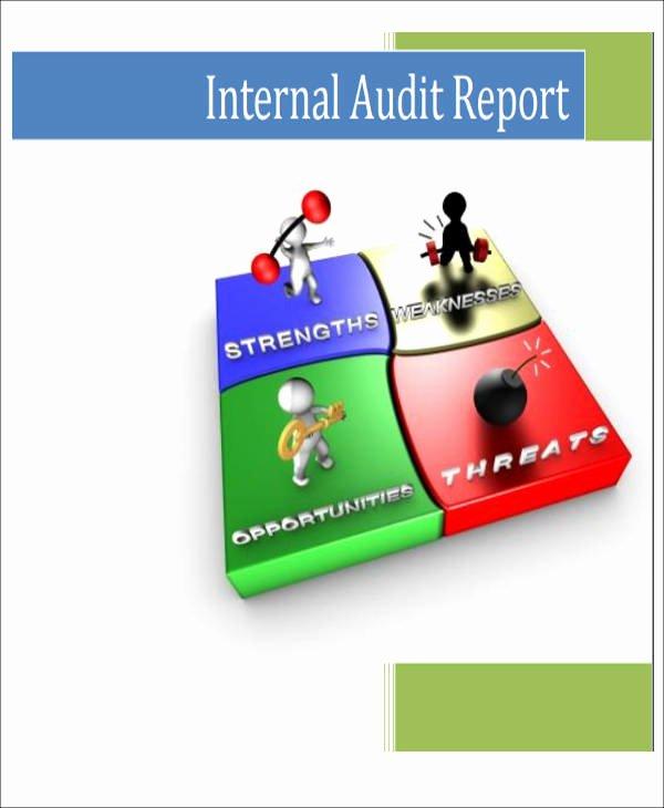 Internal Audit Reports Templates Unique 15 Sample Internal Audit Reports Word Pdf Pages