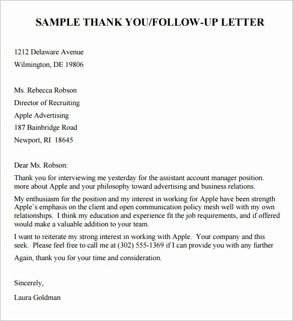 Interview Follow Up Email Template Inspirational Follow Up Email after Interview
