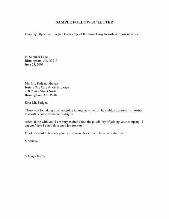 Interview Follow Up Email Template Luxury Sample Follow Up Email after Interview Jobs
