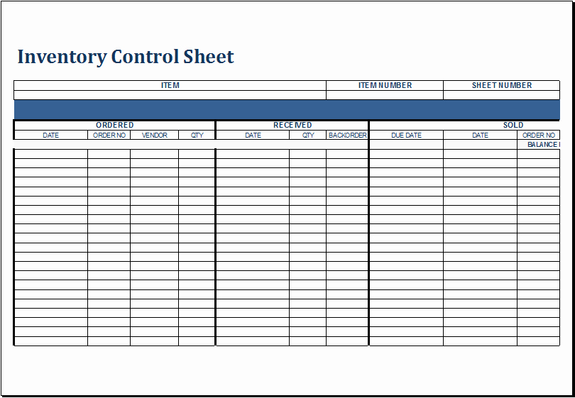 Inventory Sign Out Sheet Template Lovely Inventory Log Sheet