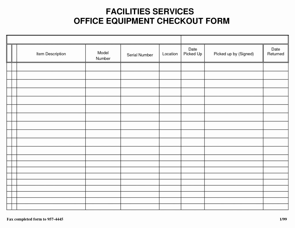 Inventory Sign Out Sheet Template Lovely Puter Inventory List Excel Spreadsheet Spreadsheet