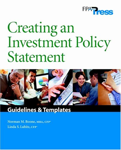 Investment Policy Statement Template Beautiful Personal Investment Policy Statement Example