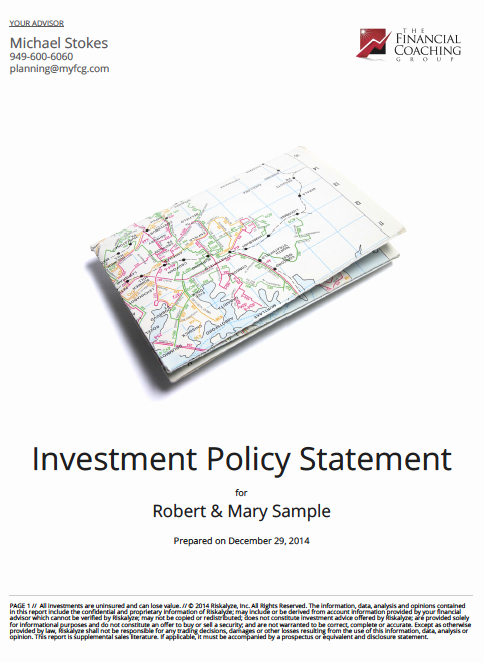 Investment Policy Statement Template Luxury Our Investment Philosophy