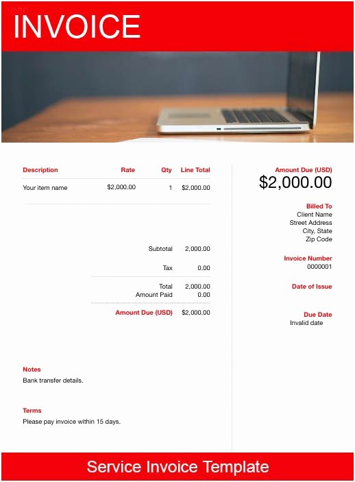 Invoice for Services Rendered Template Lovely Services Rendered Invoice Template Free Download
