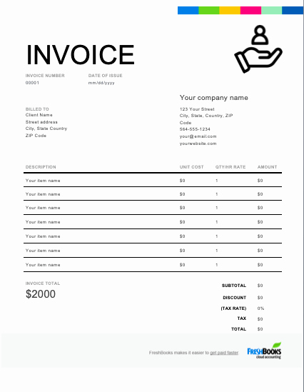 Invoice for Services Rendered Template Luxury Services Rendered Invoice Template Free Download