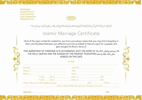 Islamic Marriage Contract Template Elegant Should A Muslim Woman Marry A Man who Doesn T Want